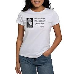 Charles Darwin 8 Women's T-Shirt