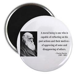 """Charles Darwin 8 2.25"""" Magnet (100 pack)"""