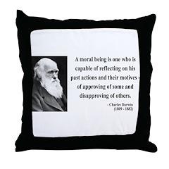Charles Darwin 8 Throw Pillow