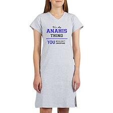 Cute Anahi Women's Nightshirt