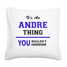 Cute Andres Square Canvas Pillow