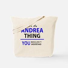 Cute Andrea Tote Bag
