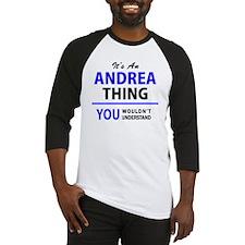 Cute Andrea Baseball Jersey