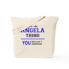 Cool Angela Tote Bag