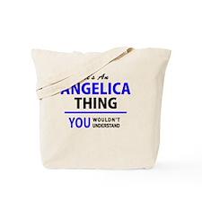 Cute Angelica Tote Bag