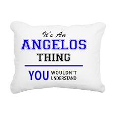Funny Angelo Rectangular Canvas Pillow