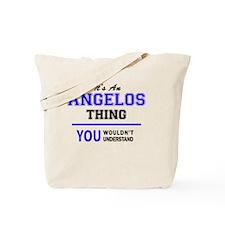 Funny Angelo Tote Bag