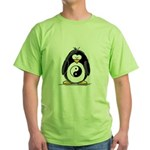 Martial Arts Ying Yang pengui Green T-Shirt