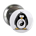 Martial Arts Ying Yang pengui Button