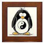 Martial Arts Ying Yang pengui Framed Tile
