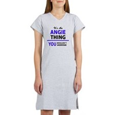 Cute Angie Women's Nightshirt