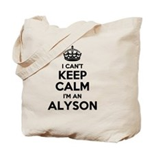 Cool Alyson Tote Bag
