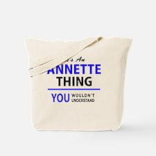 Cute Annette Tote Bag