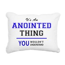 Cute Anointed Rectangular Canvas Pillow