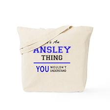 Cute Ansley Tote Bag