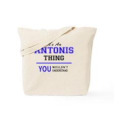 Cute Antony Tote Bag