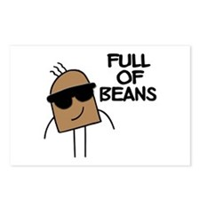 Full Of Beans Postcards (Package of 8)