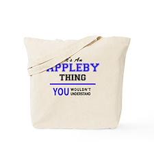 Cute Appleby Tote Bag
