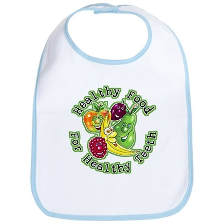 Healthy Food For Healthy Teeth Bib