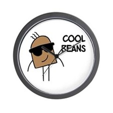 Cool Beans Wall Clock