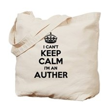 Funny Auther Tote Bag