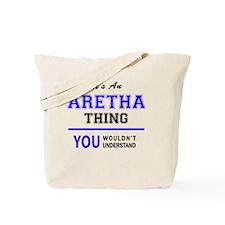 Cute Aretha Tote Bag