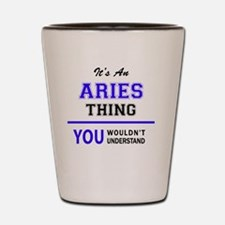 Cute Aries Shot Glass