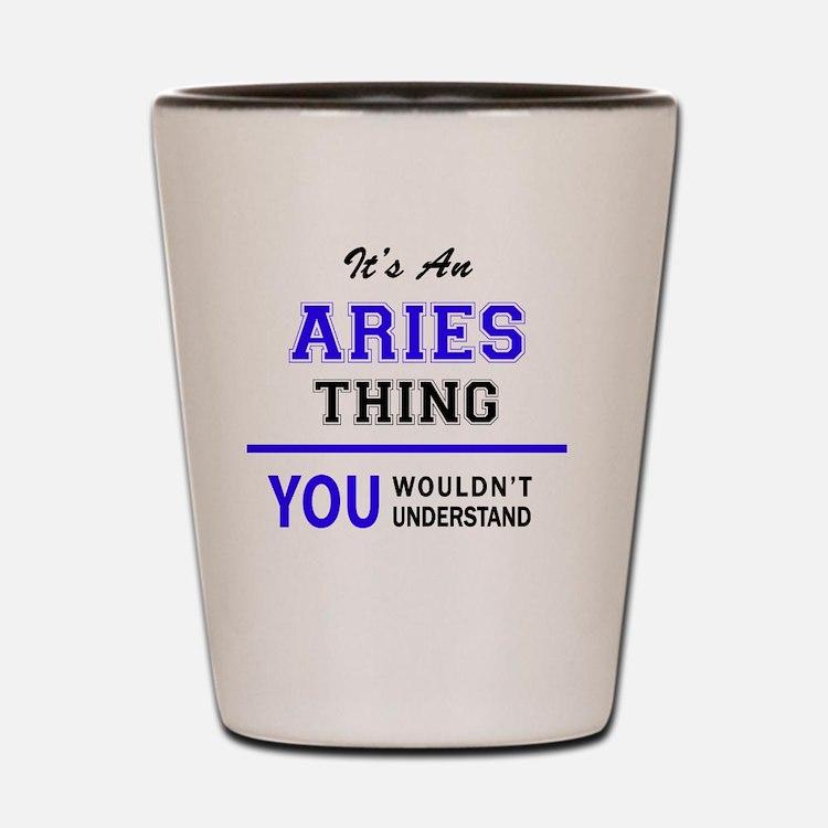 Cute Aries Shot Glass
