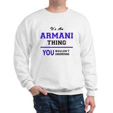 Cute Armani Sweatshirt