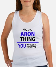 Funny Aron Women's Tank Top