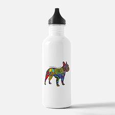 Peace Love Boston Terr Water Bottle