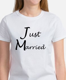 Just Married Women's T-Shirt