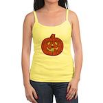 Grinning Halloween Pumpkin Jr. Spaghetti Tank