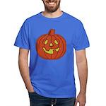 Grinning Halloween Pumpkin Dark T-Shirt