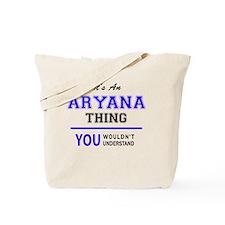 Funny Aryana Tote Bag