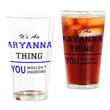 Cute Aryanna Drinking Glass