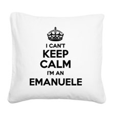 Funny Emanuel Square Canvas Pillow