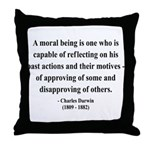Charles Darwin 8 Throw Pillow