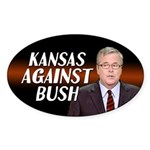 Kansas Against Jeb Bush Sticker