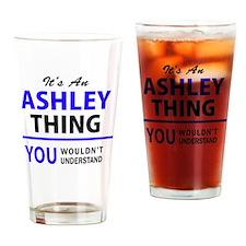 Cute Ashley Drinking Glass