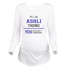 Unique Ashly Long Sleeve Maternity T-Shirt