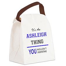 Cute Ashleigh Canvas Lunch Bag