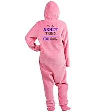 Cute Ashly Footed Pajamas