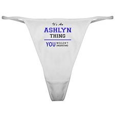 Unique Ashlyn Classic Thong