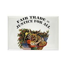 Fair Trade Rectangle Magnet