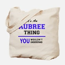 Funny Aubree Tote Bag