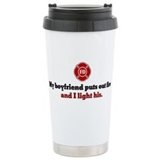 Unique Paramedic firefighter Travel Mug