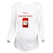 i love bridge Long Sleeve Maternity T-Shirt