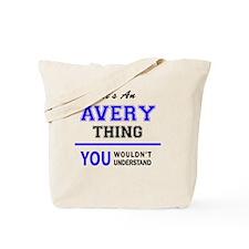 Funny Averie Tote Bag