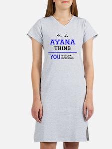 Cute Ayana Women's Nightshirt